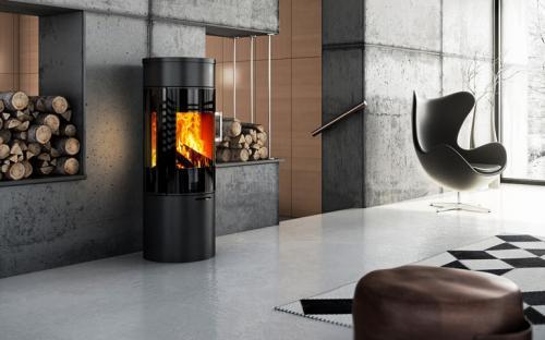 po le bois attika viva 120. Black Bedroom Furniture Sets. Home Design Ideas
