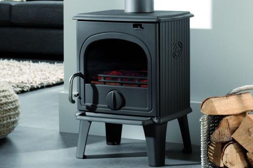 po le bois fonte flamme 44 mf. Black Bedroom Furniture Sets. Home Design Ideas