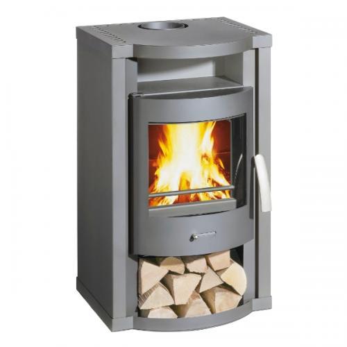 Po le bois fonte flamme calor for Calcul puissance poele a bois