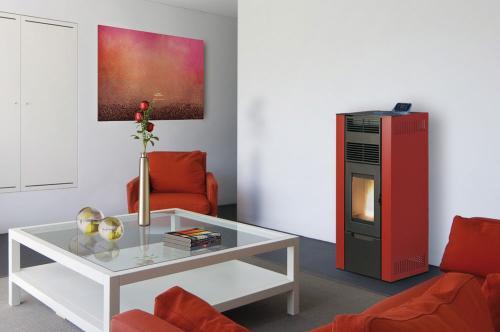 po le granul s fonte flamme diami xl 9. Black Bedroom Furniture Sets. Home Design Ideas