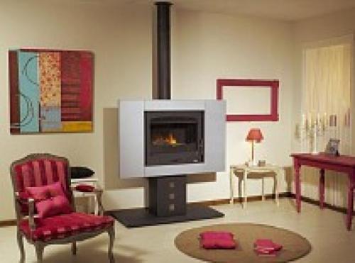 po le bois godin vulcania. Black Bedroom Furniture Sets. Home Design Ideas