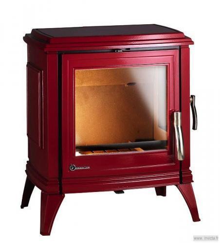 po le bois invicta poele sedan 10 emaille. Black Bedroom Furniture Sets. Home Design Ideas