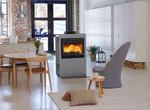 po le bois jotul cube i 400. Black Bedroom Furniture Sets. Home Design Ideas