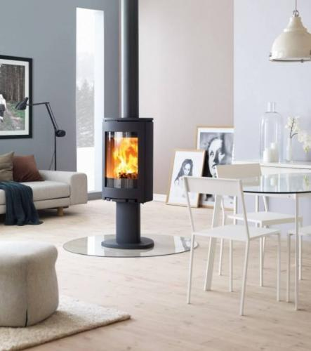 po le bois jotul j tul f 360. Black Bedroom Furniture Sets. Home Design Ideas