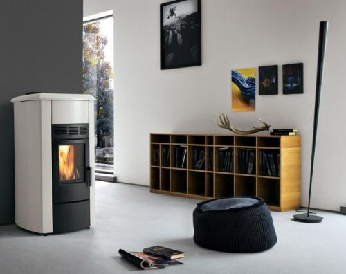 po le granul s palazzetti ecofire adele. Black Bedroom Furniture Sets. Home Design Ideas