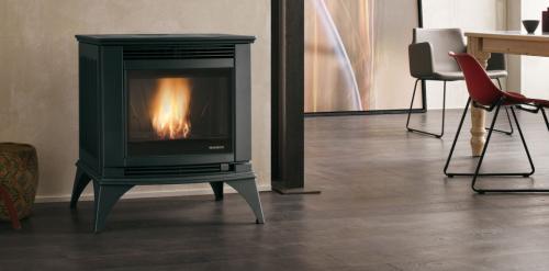 po le granul s palazzetti ecofire cesare. Black Bedroom Furniture Sets. Home Design Ideas
