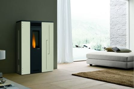 po le granul s palazzetti ecofire fiorella 7kw. Black Bedroom Furniture Sets. Home Design Ideas