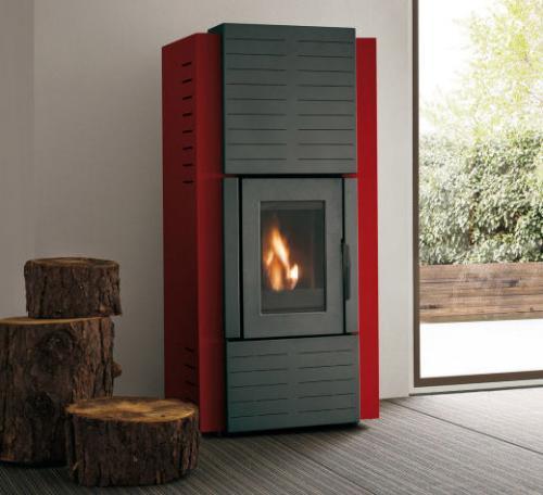 po le granul s palazzetti ecofire olga idro 20kw. Black Bedroom Furniture Sets. Home Design Ideas