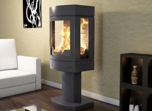 po le bois seguin ambre. Black Bedroom Furniture Sets. Home Design Ideas