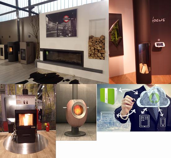 Salon de Verone 2014 les appareils de chauffage