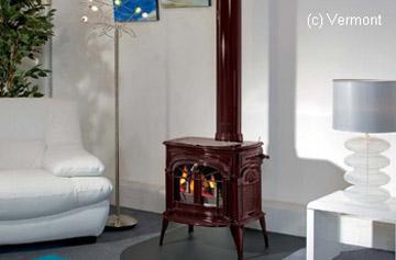 poele scandinave traditionnel aussi appel rustique. Black Bedroom Furniture Sets. Home Design Ideas